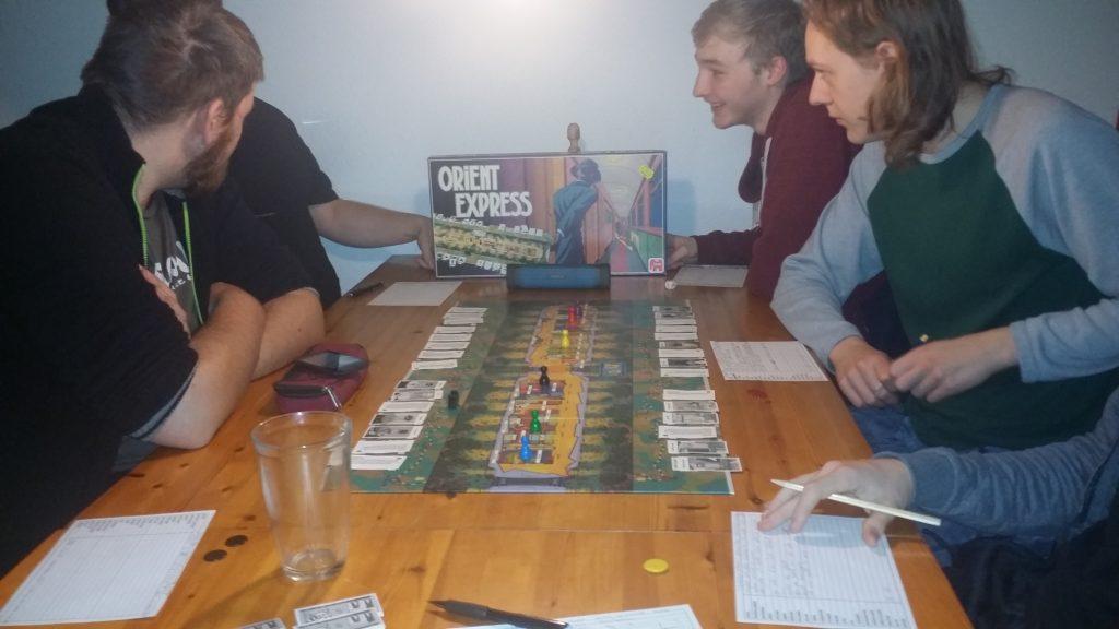 Vi spiller Orient Express